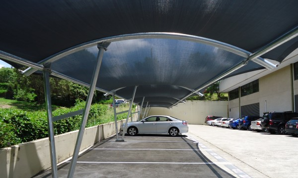Barrel Arch Shade Structure