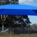 Framed Shade Structure